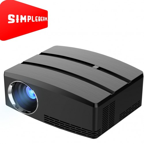 1080P mini projectors 1800 Brightness Native HD LED TWS Video Home Theater Projectors GP80 for family entertainment