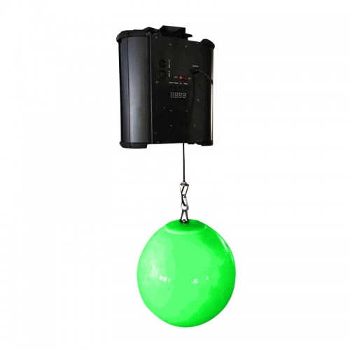 dmx winch kinetic lights DMX led lift ball kinetic sphere ball