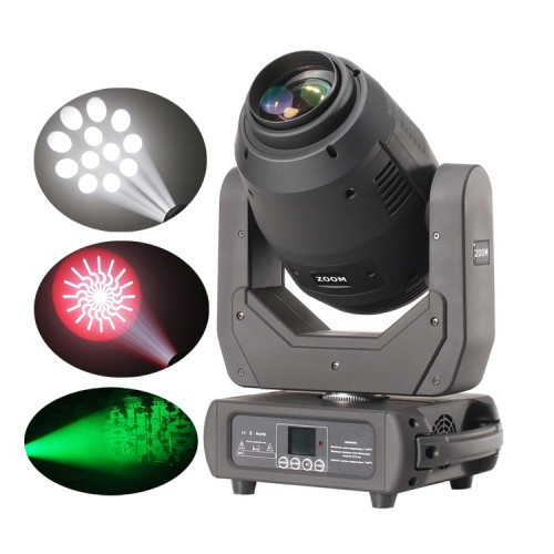 stage Dj light 250w Bsw beam spot wash 3in1 led moving head with Zoom Function