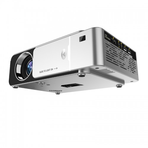 T6 LED Video Projector HD 720P Portable Support 4K Full HD 1080p Home Theater Cinema