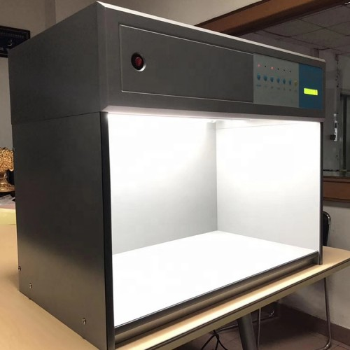 6 Light Sources D65 TL84 F UV CWF U30 Color Assessment Light Box Color Matching Cabinet Color viewing light Box P60