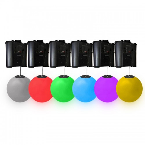 nightclub lights rgb led lifting ball dmx winch kinetic lifting ball light gold disco ball