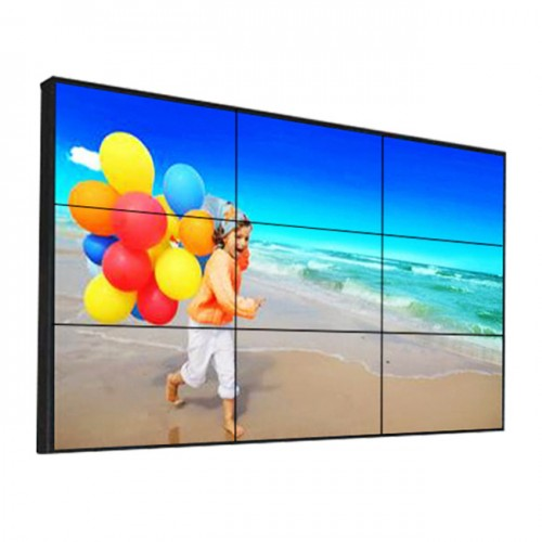 "46"" 49"" 55 inch lcd led video wall 3x3 with controller for shopping mall and exhibition showroom advertising"