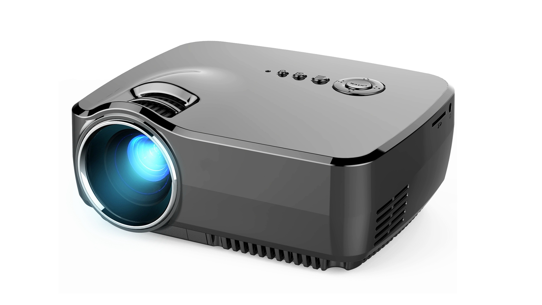 High quality GP70 video projector led pico projector for Multi-interface connect to computer
