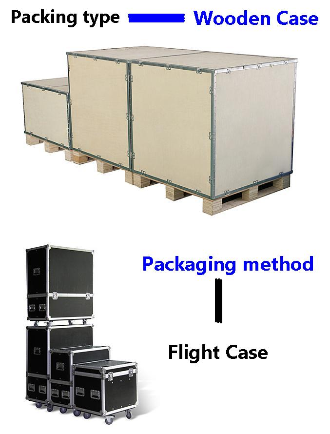Leeman led display flying case or flight case packaging