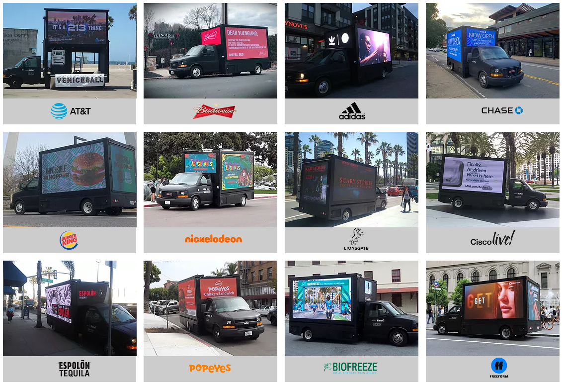 Mobile LED Billboard Truck For Sale