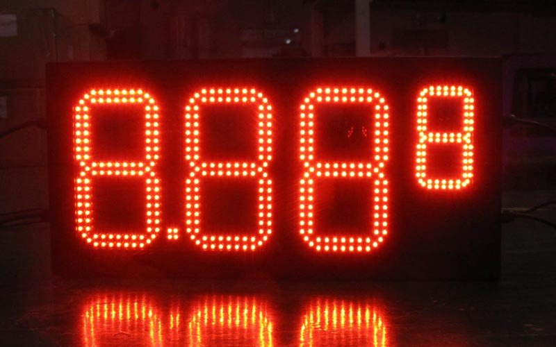 12 inch Gas price LED signs