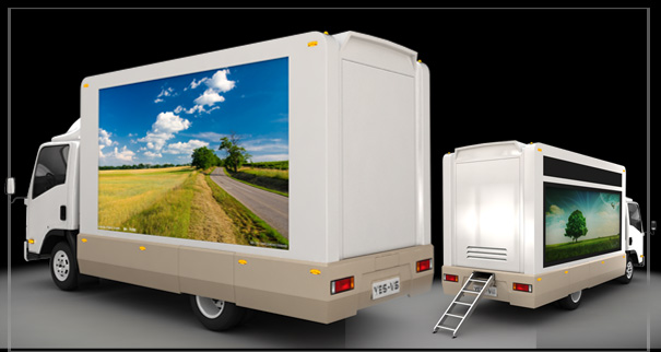 Video LED Mobile Billboard