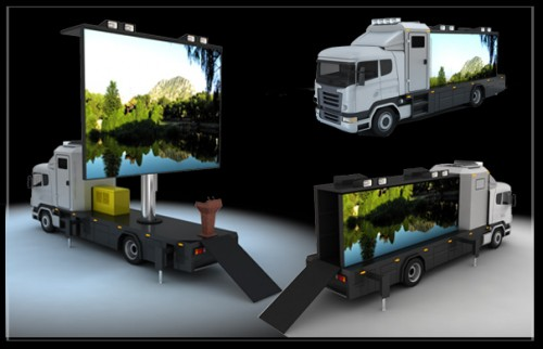 Mobile LED Billboard Trucks Advertising