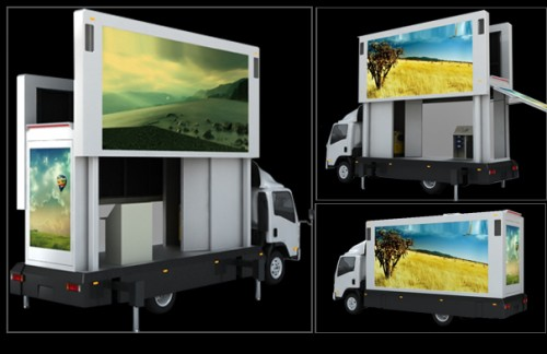 LED video trucks