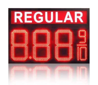 8inch Digital Price Gasoline LED SIGNS