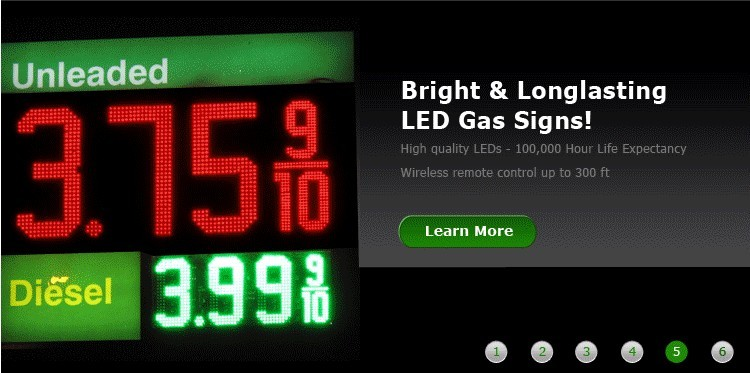 gas station sign manufacturers