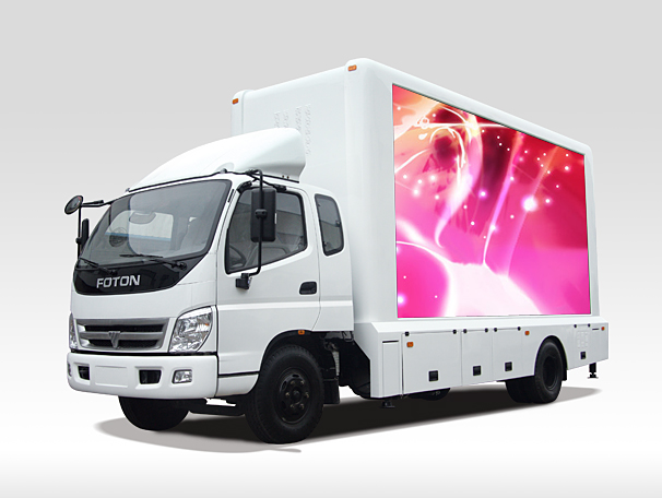mobile led display trailer manufacturers