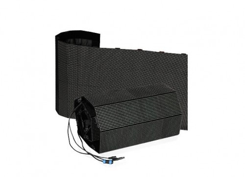 Indoor Flexible LED Video Wall With Soft LED Module