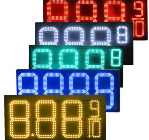 Gas Price LED signs
