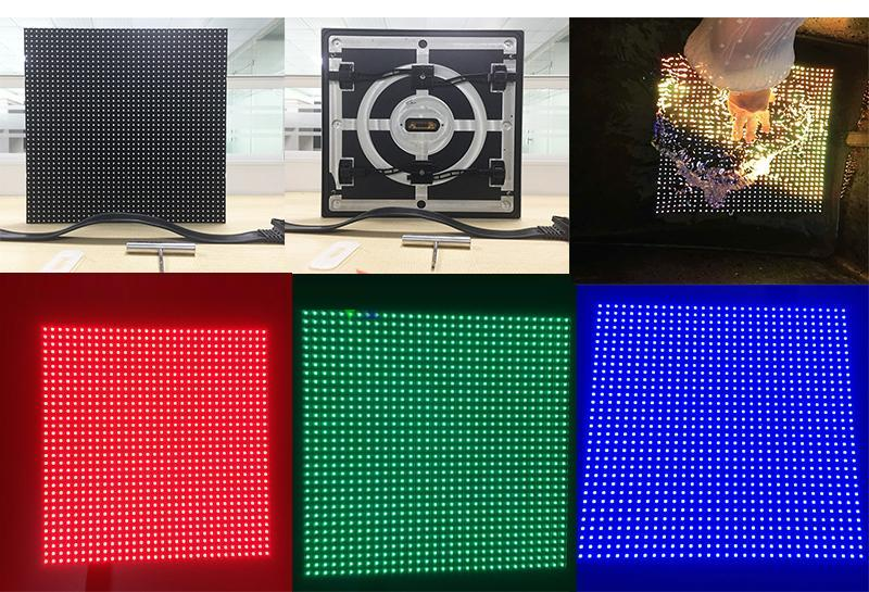 P10 smd outdoor front access led video wall