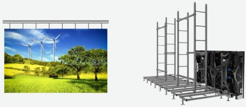 rental Outdoor P4.81mm Frontal Service LED Display Module
