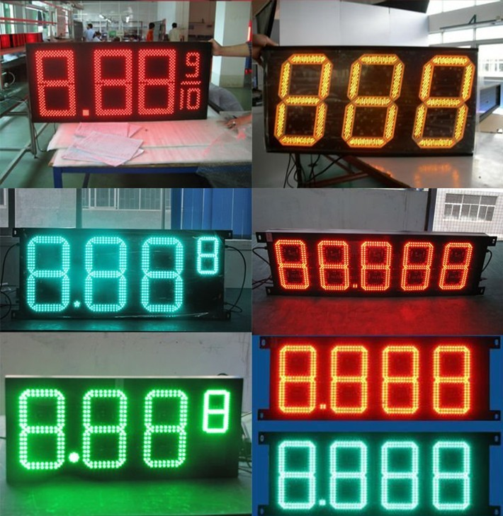 led gas price signs outdoor