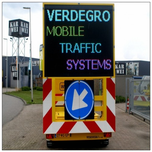 Solar LED Variable Message Signs Trailer