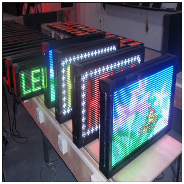P10 outdoor DIP full color LED module