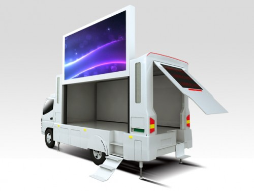mobile led display trailer truck manufacturers