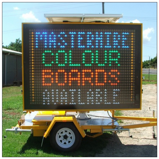 Portable Variable Message Sign Trailers