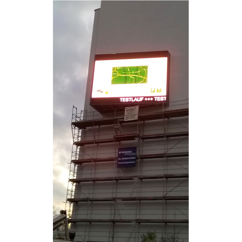 Outdoor Full Front Access Rental Led Display Screen
