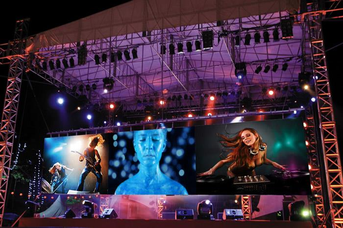 rental Outdoor P4.81mm Frontal Service LED Display