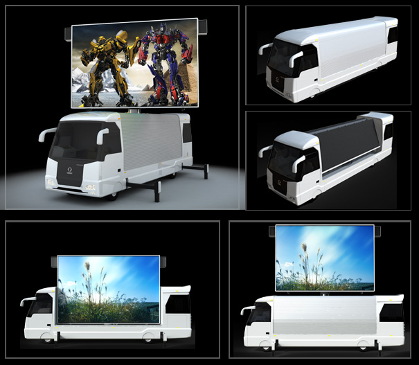 LED TRUCK - Advertise with mobile billboards