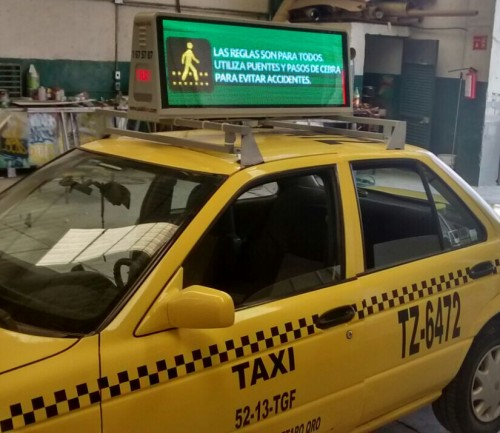 taxi led display supplier