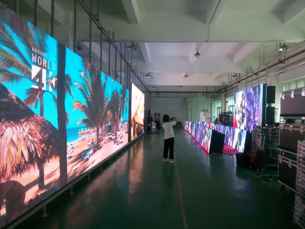 P2 Indoor video wall led display panels