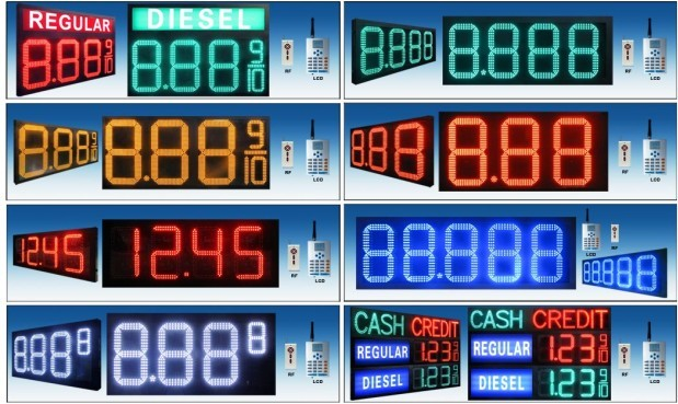 Led Gas Price Signs manufacturers & suppliers