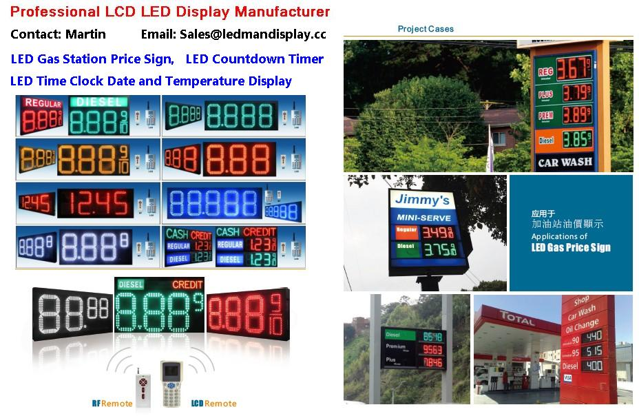 led sign board outdoor