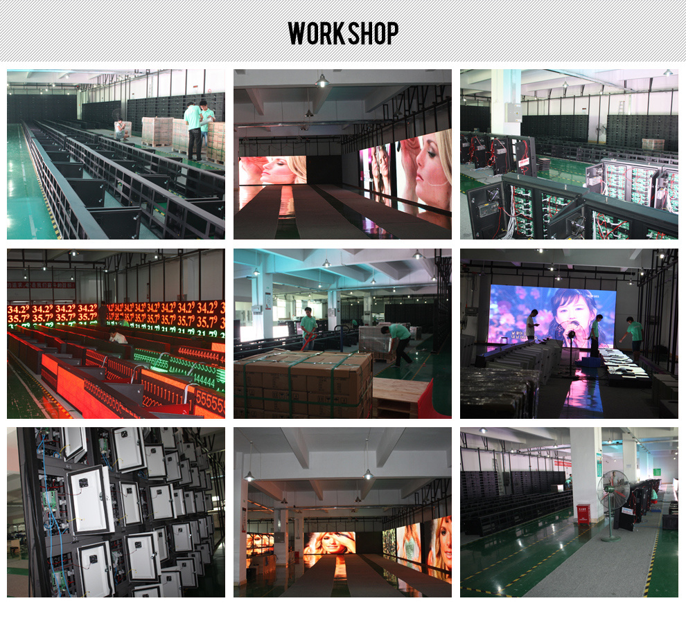 Leeman LED Display manufacturers factory workshop
