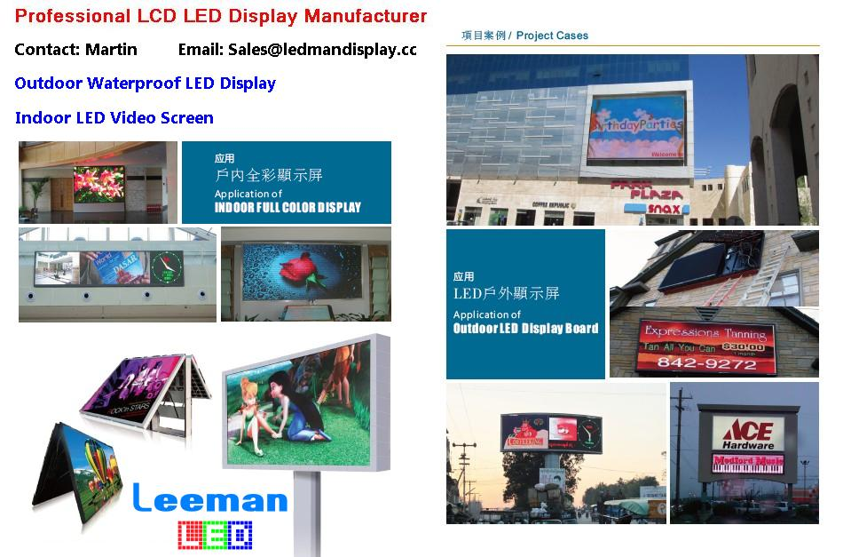 led sign board display
