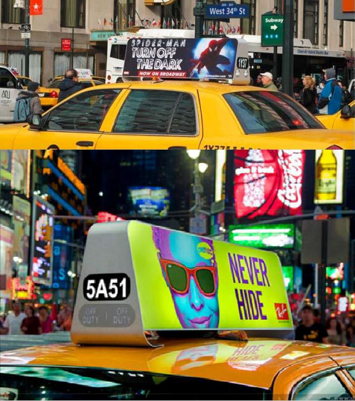 Taxi Roof Signs|Taxi LED Display|Taxi Top LED Display