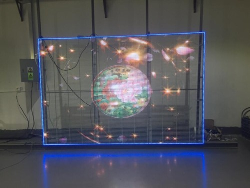 transparent led wall