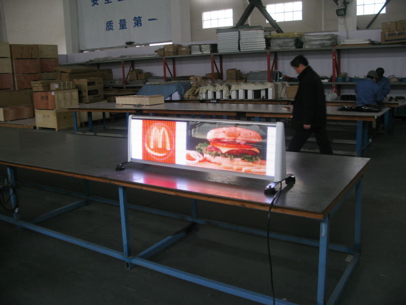 taxi roof led display board