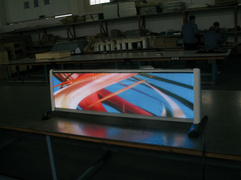 taxi roof led display