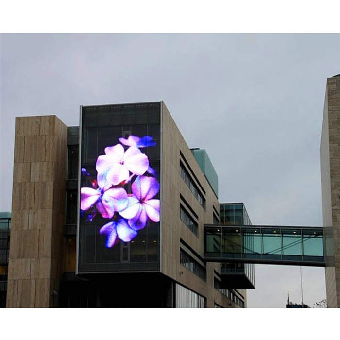 LED Media Facade Lighting