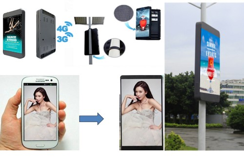 Smart Pole LED Display