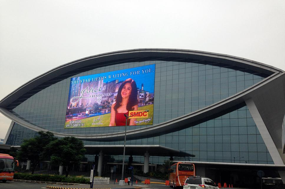Outdoor Transparent LED Media Facade SCREEN