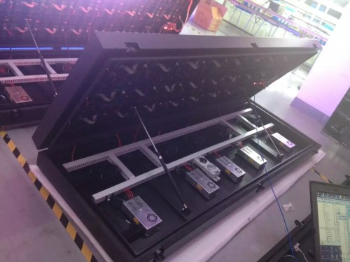 outdoor frontal service led panel