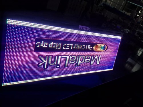 front service led signboard