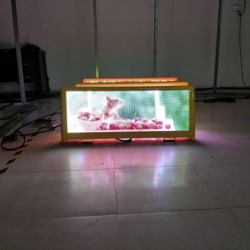 double sided taxi led display supplier