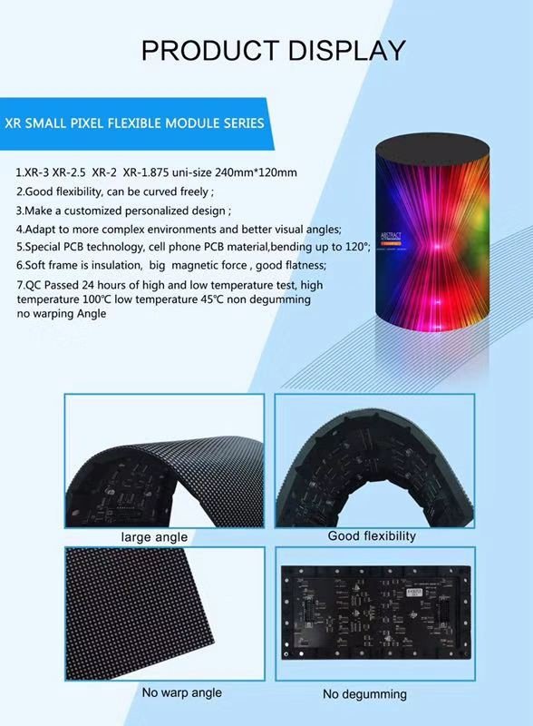 Search Results Web results P2.5 Indoor Soft Flexible LED Display Modules