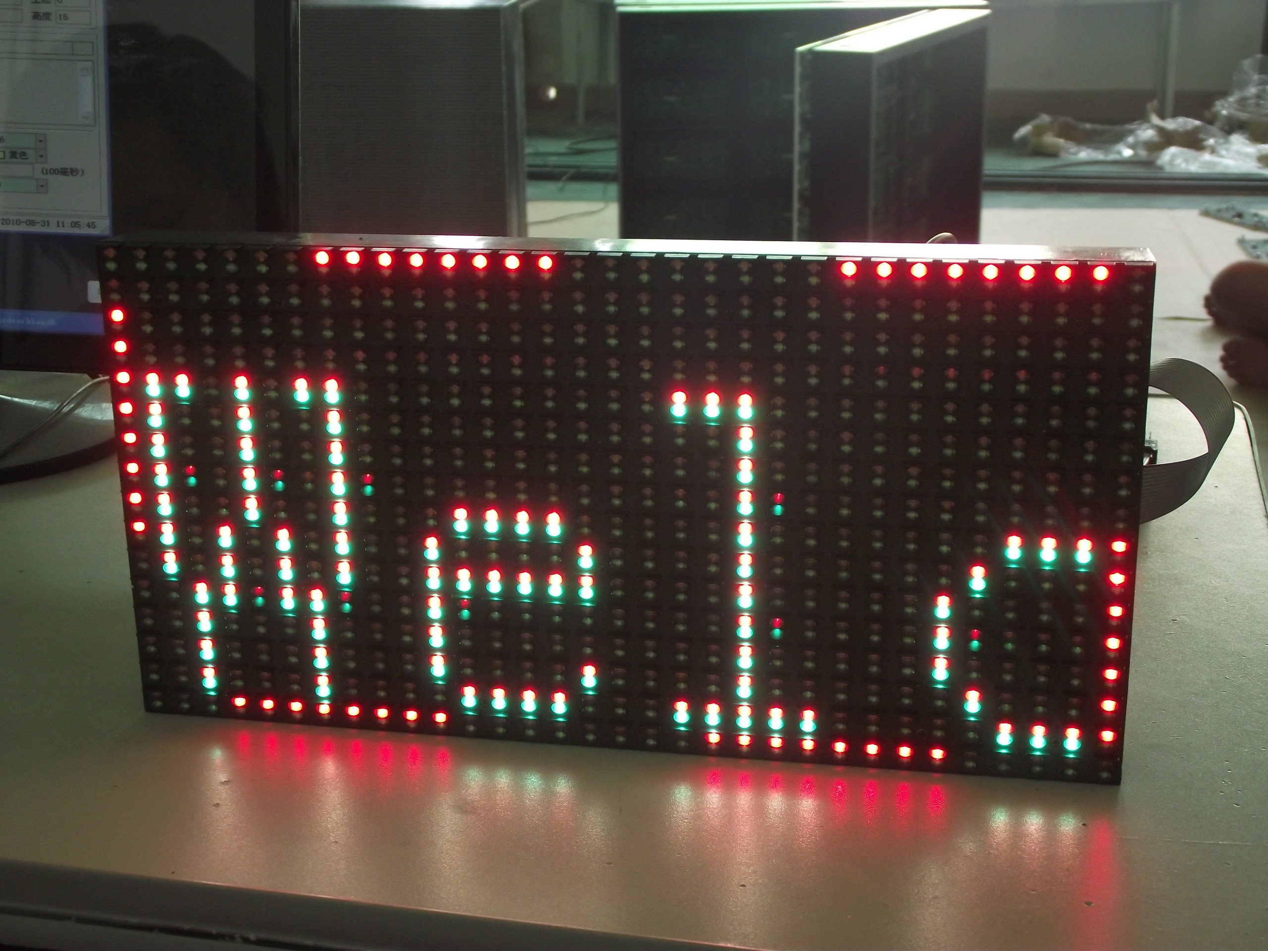 P10 outdoor full-color LED modules