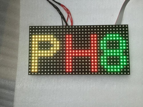 China P8 320*160mm Outdoor Full Color LED Module