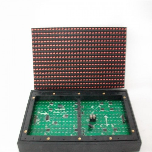 p10 single color led module