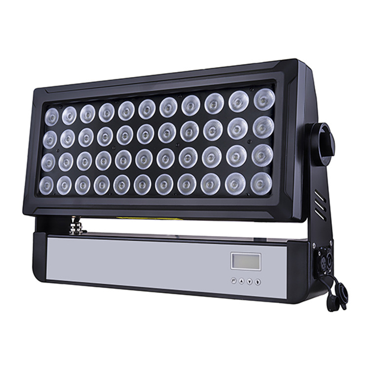 Building color wash dmx outdoor waterproof 44x10w rgbw 4in1 led city color light